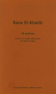 Rana El-Khatib - 18 poèmes.