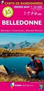 Rando - Belledonne plastifiée - 1/50 000.