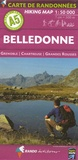 Rando - Belledonne - Grenoble, Chartreuse, Grandes Rousses, 1/50 000.