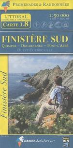 Rando éditions - Finistère Sud - 1/50 000.