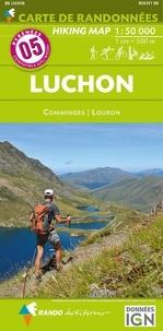 Deedr.fr Luchon - Comminges, Louron. 1/50 000 Image