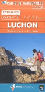 Deedr.fr Luchon - 1/50 000 Image