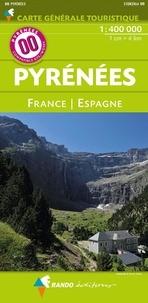 Rando éditions - Pyrénées France/Espagne - 1/400 000.