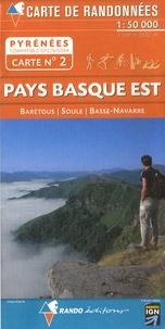 Rando - Pays basque Est - 1/50000.