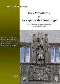 """Randy Engel - L'Homintern"""" et les espions de Cambridge."""