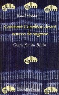 Histoiresdenlire.be Comment Caméléon devint source de sagesse - Contes fon du Bénin Image