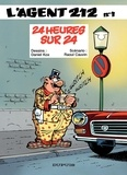 Raoul Cauvin et  Kox - L'agent 212 Tome 1 : 24 Heures sur 24.