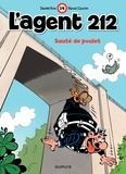 Raoul Cauvin et  Kox - L'agent 212 Tome 14 : Sauté de poulet.