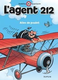 Raoul Cauvin et Daniel Kox - L'agent 212 Tome 21 : Ailes de poulet.