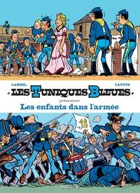 Raoul Cauvin et Willy Lambil - Les Tuniques bleues présentent Tome 6 : Les enfants dans l'armée - Tome 24, Baby Blue ; Tome 31, Drummer Boy.