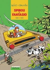 Raoul Cauvin et  Nic - Spirou et Fantasio Intégrale Tome 12 : 1980-1983.