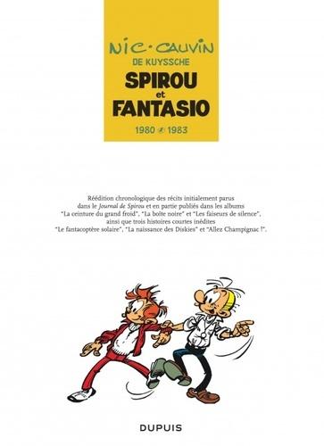 Spirou et Fantasio Intégrale Tome 12 1980-1983
