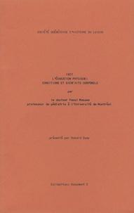 Raoul Masson - L'éducation physique : conditions et bienfaits corporels - 1927.