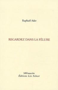 Raphaël Ader - Regardez dans la fêlure.