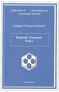 Raphael Bar-El et Gilbert Benhayoun - Regional Economic Policy.
