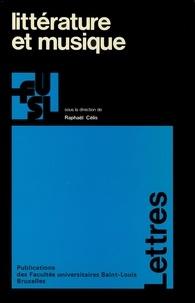 Raphaël Célis - Littérature et musique.