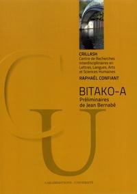 Bitako-a - Raphaël Confiant | Showmesound.org