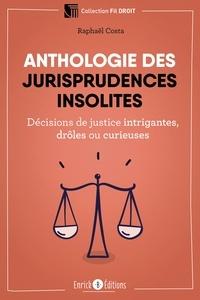 Raphaël Costa - Anthologie des jurisprudences insolites - Décisions de justice intrigantes, drôles ou curieuses.