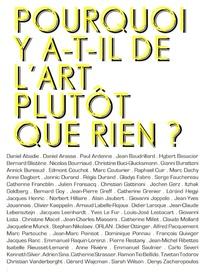 Raphaël Cuir - Pourquoi y a t'il de l'art plutôt que rien ?.