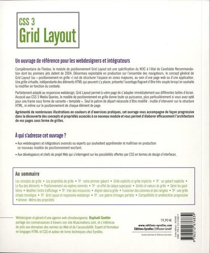 CSS 3 Grid Layout. Vous allez enfin aimer le CSS