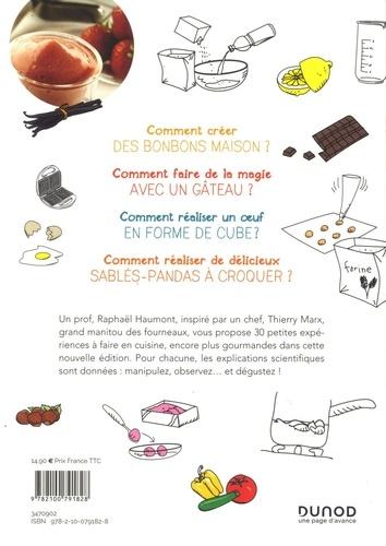 Le petit chimiste (très) gourmand en cuisine - 3éd. - 30 recettes et expériences à faire en famille. 30 recettes et expériences à faire en famille