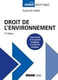 Raphaël Romi - Droit de l'environnement.
