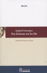 Raphaël Schraepen - Pas d'oiseau sur les fils.