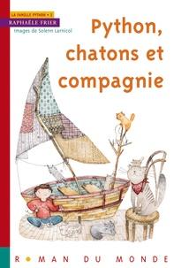 Raphaële Frier - Python, chatons et compagnie.