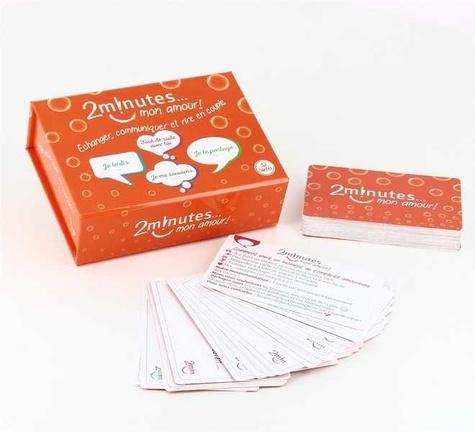 Raphaëlle de Foucauld - 2 minutes... mon amour ! - Le jeu qui oxygène votre couple. Un jeu de 52 cartes facile, simple et positif dédié à votre couple.