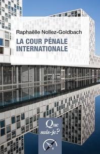 Raphaëlle Nollez-Goldbach - La Cour pénale internationale.
