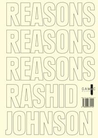 Rashid Johnson - Reasons.