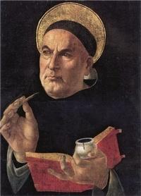 Rassemblement à son image - Image de saint Thomas d'Aquin, le docteur des docteurs en théologie - Lot de 20 exemplaires.