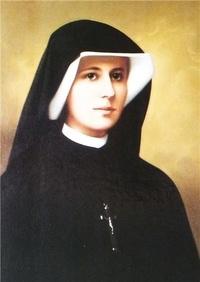 Rassemblement à son image - Image de sainte Soeur Faustine Kowalska (1905-1938) - Lot de 50 exemplaires.