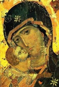Accentsonline.fr Pack de 20 images de La Mère de Dieu de Vladimir Image