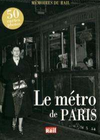 RATP - Le métro de Paris.