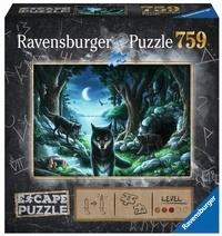 RAVENSBURGER - ESCAPE PUZZLE - HISTOIRES DE LOUPS