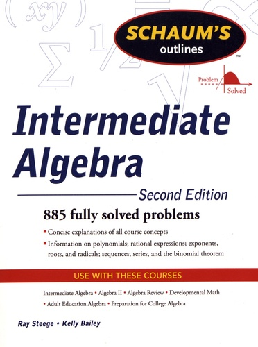 Ray Steege et Kerry Bailey - Intermediate Algebra.