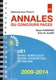 Rayan Kabirian et Arije Al Ajjan - Annales du concours PACES UE1 2009-2014 - Optimisé pour Paris 6.