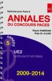Rayan Kabirian et Arije Al Ajjan - Annales du concours PACES UE2 2009-2014 - Optimisé pour Paris 6.