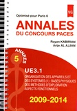 Rayan Kabirian et Arije Al Ajjan - Annales du concours PACES UE3.1 2009-2014 - Optimisé pour Paris 6.