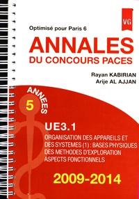 Annales du concours PACES UE3.1 2009-2014 - Optimisé pour Paris 6.pdf