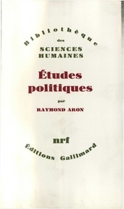 Raymond Aron - Études politiques.