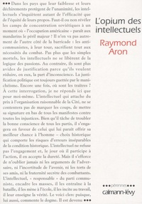 L'opium des intellectuels - Raymond Aron |