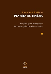 Raymond Bellour - Pensées du cinéma - Les films qu'on accompagne - Le cinéma qu'on cherche à ressaisir.