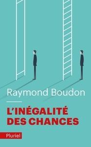 Raymond Boudon - L'inégalité des chances - La mobilité sociale dans les sociétés industrielles.