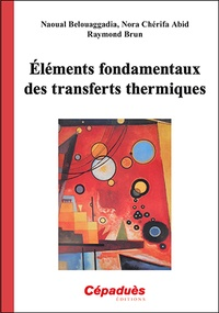 Raymond Brun et Naoual Belouaggadia - Eléments fondamentaux des transferts thermiques.