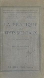 Raymond Buyse et Ovide Decroly - La pratique des tests mentaux.
