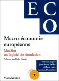 Macro-économie européenne. MacSim, un logiciel de simulation, avec CD-ROM.pdf