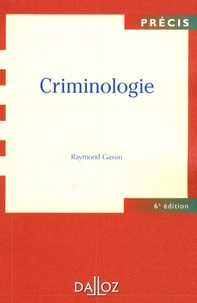 Raymond Gassin - Criminologie.