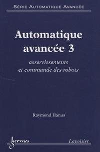 Automatique avancée - Tome 3, Asservissements et commande des robots.pdf